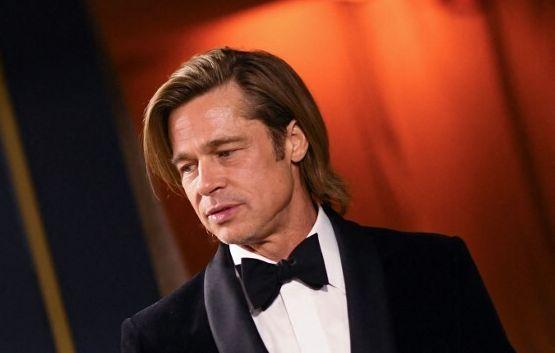 Brad Pitt, face à Angelina Jolie, obtient la garde partagée de leurs enfants (photo du 9 février 2020...