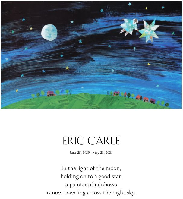 Carle's family announced his death with a tribute on his website.