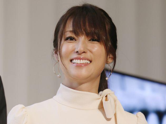 深田恭子さん(2018年撮影)