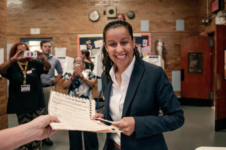 Tiffany Cabán, a 2019 candidate for Queens district attorney, is expected to win her city council race. Progressive po