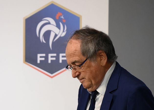 Le président de la Fédération française de footballNoël Le Graët...