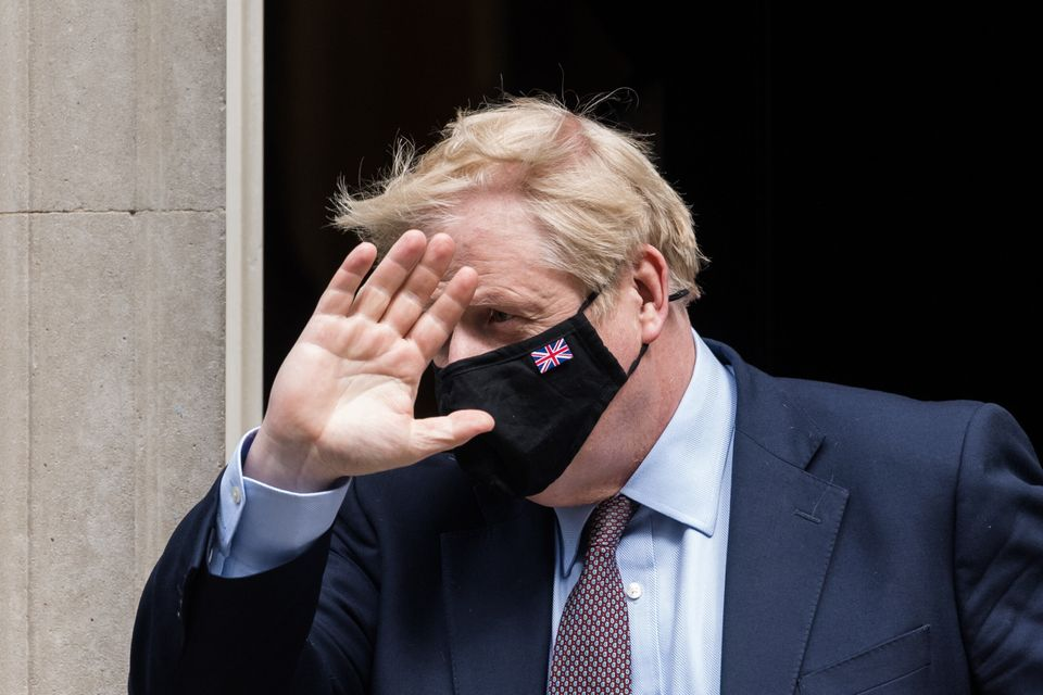 Johnson didn't come off well