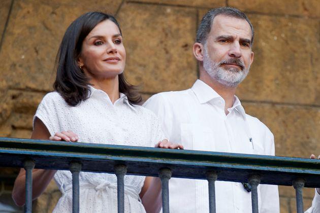 Letizia y Felipe