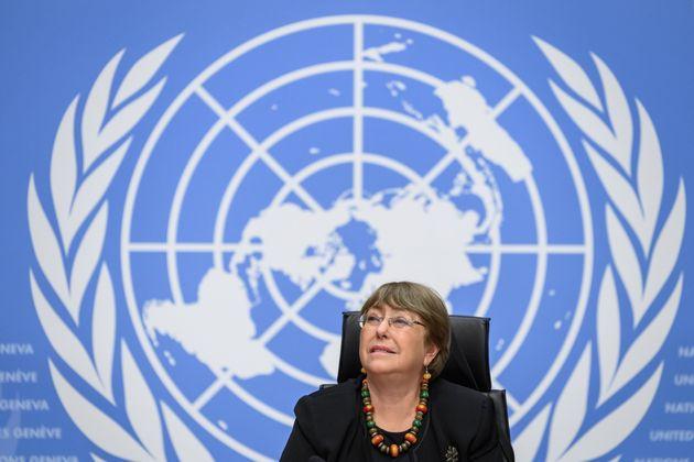 Michelle Bachelet, en pasado diciembre, en