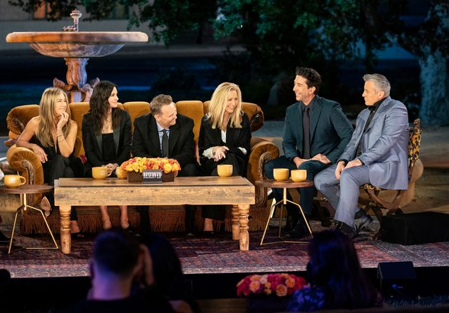 The cast of Friends during the