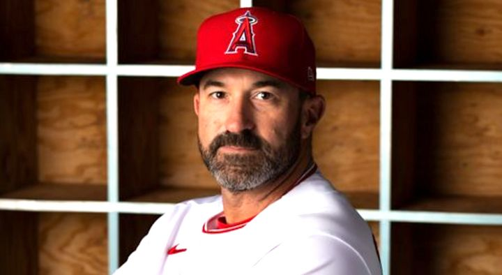 Mickey Callaway was hired as the Angels pitching coach in 2019.