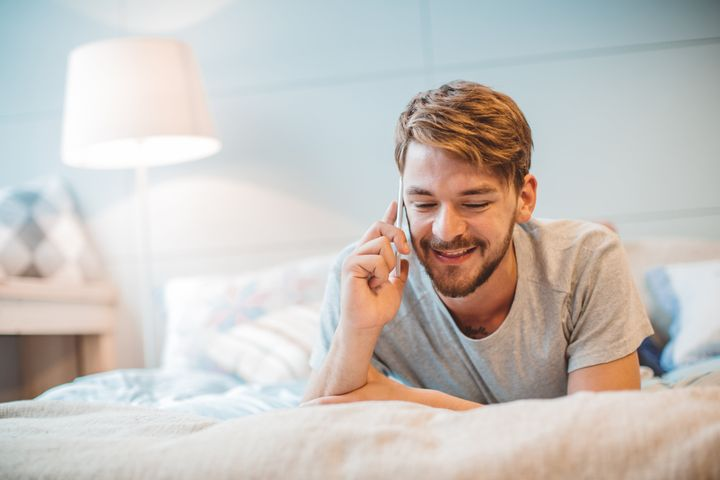 An intimate phone call can be a way to break up the FaceTime monotony.