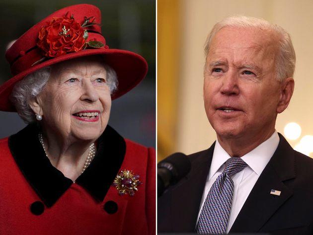 President Biden And Queen Elizabeth's Official Visit