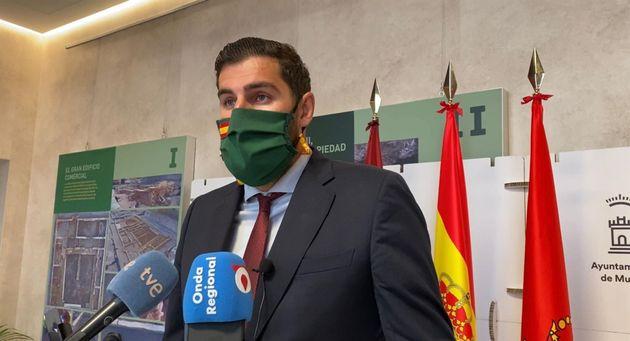 José Ángel Antelo, portavoz y presidente regional de