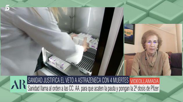 Margarita del Val en 'El programa de