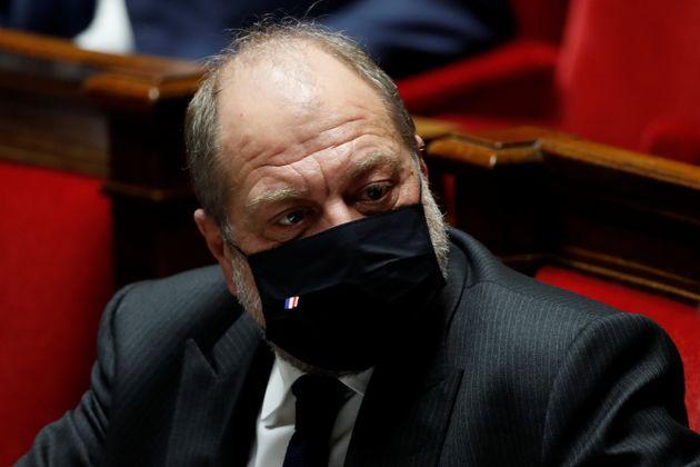 Le ministre de la Justice, Eric Dupond-Moretti, à l'Assemblée nationale le 12 janvier