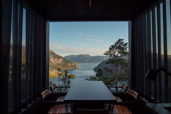 The Bolder en Noruega.