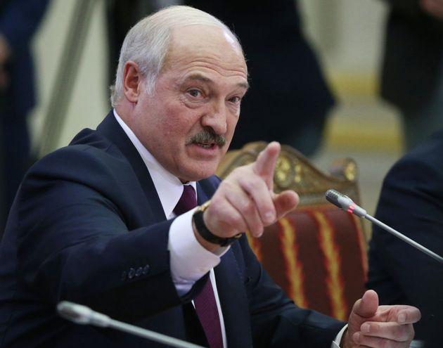 Le Président de la Biélorussie Alexander Loukachenko, le 20 décembre 2019 à Saint-Pétersbourg en Russie....