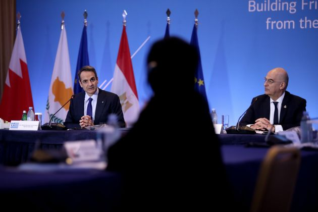 Χαιρετισμός του Πρωθυπουργού Κυριάκου Μητσοτάκη στην συνάντηση Υπουργών Εξωτερικών