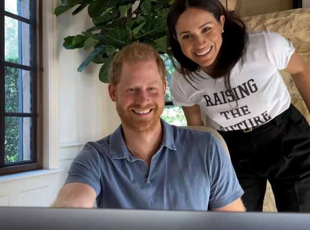 The Duchess of Sussex made an appearance on Harry and Oprah Winfrey's new Apple TV docuseries.