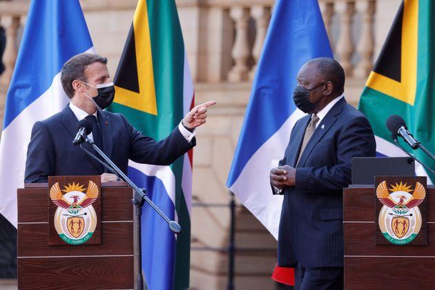 Ce vendredi 28 mai, Emmanuel Macron a enfin rejoint la position de l'Inde et de l'Afrique du Sud sur...