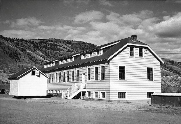 Cette école a été reconstruite sur le site de l'ancienne école améridienne...