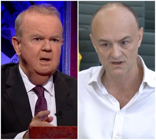 (L-R) Ian Hislop and Dominic