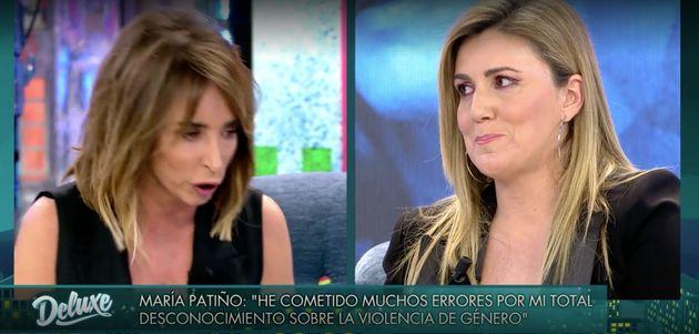 María Patiño y Carlota Corredera, en 'Sábado Deluxe'