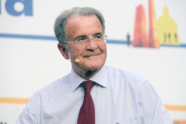 BOLOGNA, ITALY - JUNE 09: Italian Government ex Prime Minister and ex EU President Romano Prodi attends...