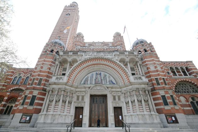 Westminster Cathedral, where the PM was married on