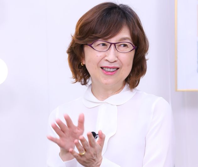 ハフライブに出演した南場智子さん