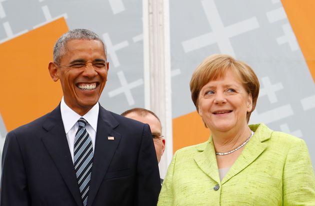 Barack Obama y Angela Merkel, reunidos en Berlín en