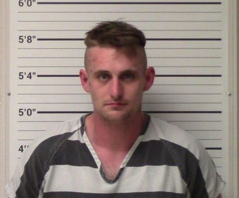 Coleman Thomas Blevins, 28, was arrested Friday after allegedly plotting to carry out a mass shooting at a Walmart.