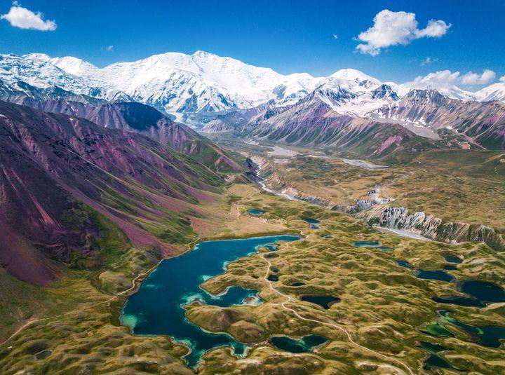 Fotografía de Ignacio Izquierdo en Kirguistán.