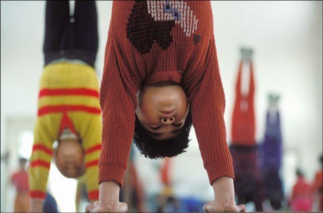Gara in equilibrio sulle mani,Wuqiao,