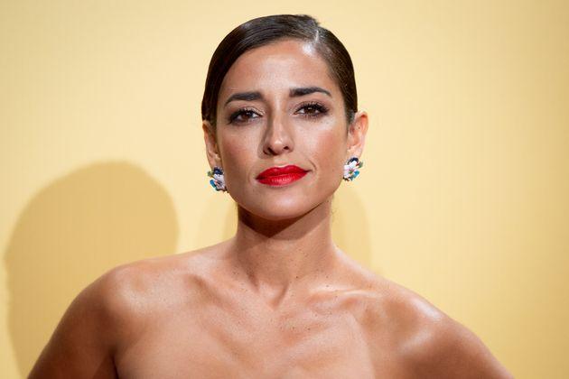 La actriz Inma Cuesta en la premiere de 'Vivir Dos Veces'