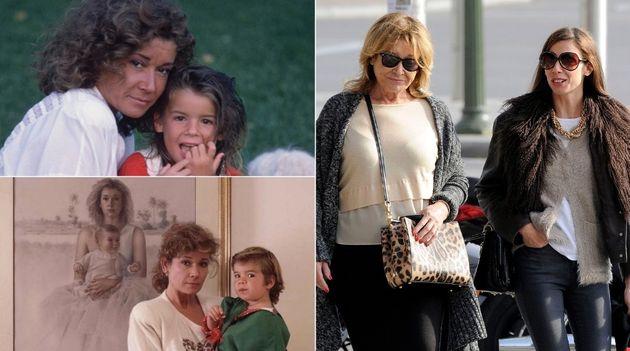 Su hija Alba Santana, el amor de su
