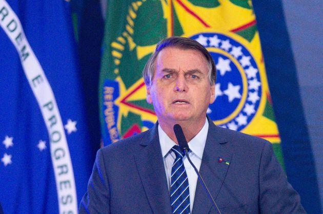 El presidente brasileño, Jair