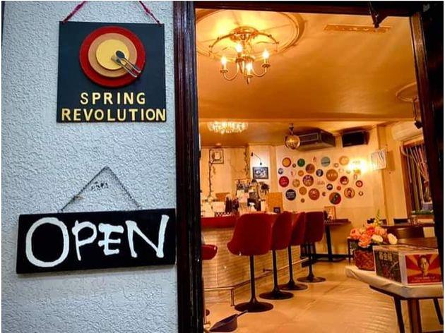 6月1日にオープンした「Spring Revolution