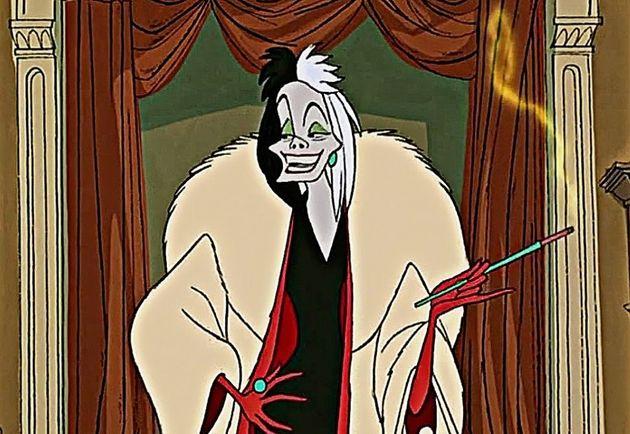 Cruella as seen in the original Disney