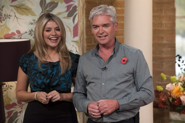 Holly Willoughby and Phillip Schofield hosting This Morning in