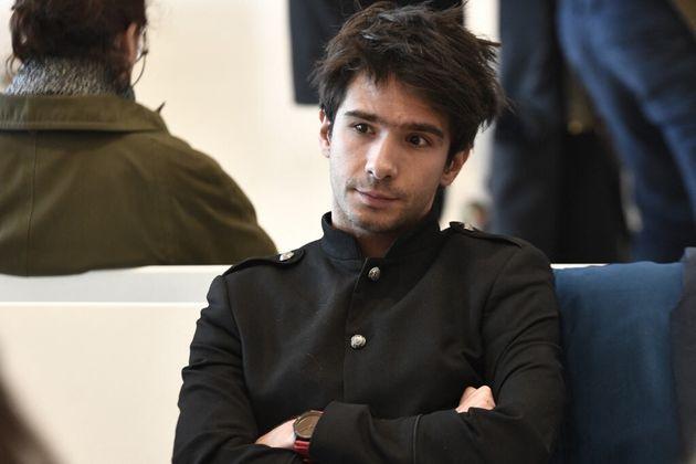 L'avocat Juan Branco, au tribunal de Paris en février 2020 (photo