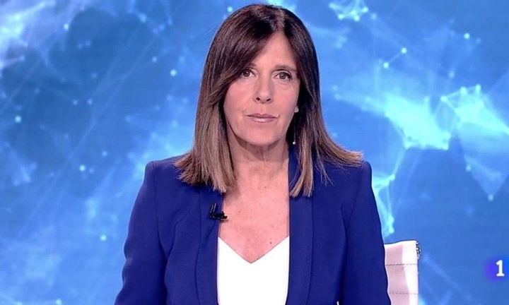 Ana Blanco, presentadora del 'Telediario' de La 1 de TVE.