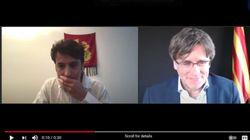 El momento 'tierra, trágame' en una conferencia de Puigdemont: el moderador lo oye y le da