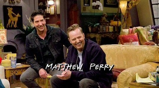 Matthew Perry during the Friends