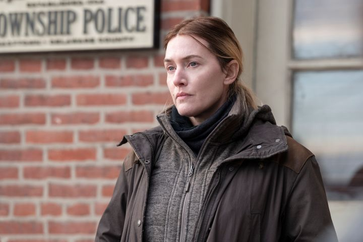 """Kate Winslet plays a hardened Pennsylvania detective investigating the murder of a young girl in HBO's """"Mare of Easttown.""""&nb"""