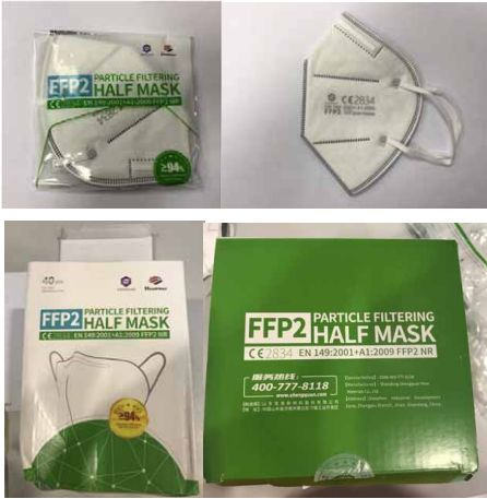 Des millions de masques FFP2 distribués aux soignants rappelés par