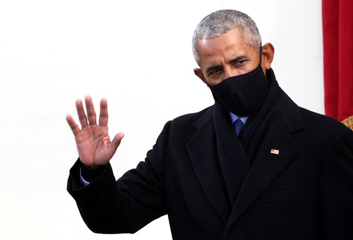 """""""There is a psychic cost to not always just telling the truth,"""" former President Barack Obama told The New York T"""