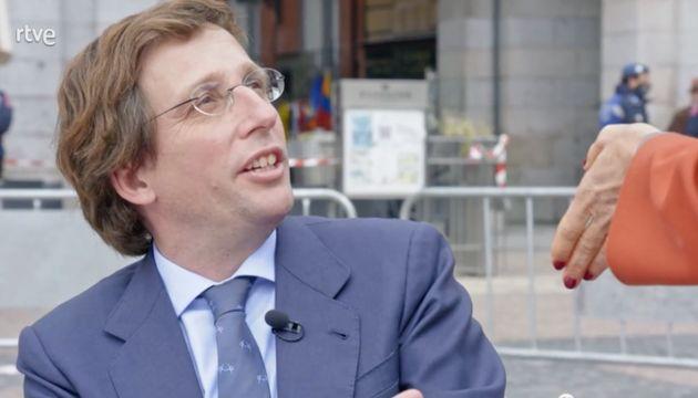 José Luis Martínez-Almeida, alcalde de Madrid, en