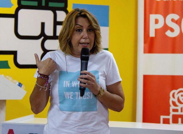 La secretaria general del PSOE andaluz, Susana