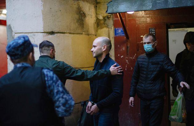 Andrei Pivovarov, jefe del movimiento Rusia Abierta, es arrestado en San