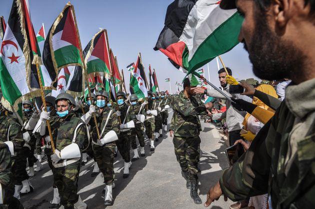 Actos en Tinduf por el 45º aniversario de la República Árabe Saharaui