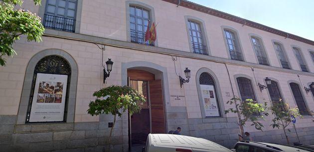 Fachada del Colegio Oficial de Médicos de Madrid, en una captura de Google
