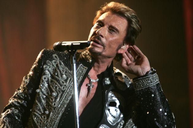 Johnny Hallyday en concert à Bercy le 29 septembre
