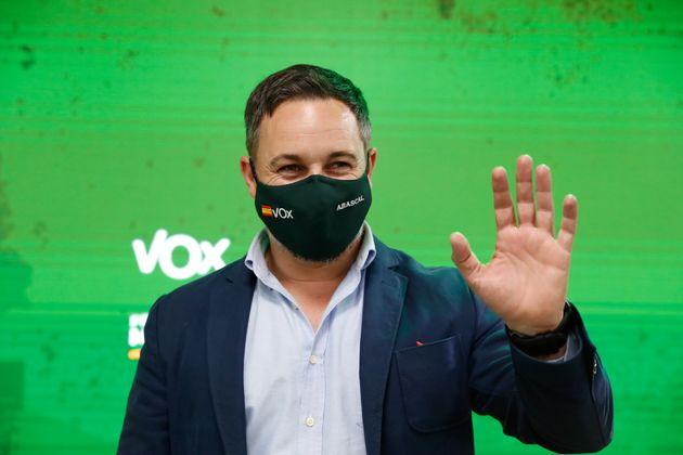 Santiago Abascal, tras las elecciones de Madrid de